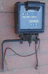 Antique Vintage Livery 1900s 1920s Taxi Cab Meter Box