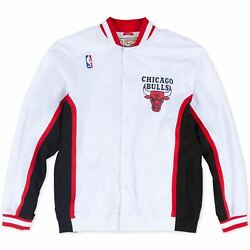 Mens Mitchell amp; Ness NBA 1992 93 Authentic Warm Up Jacket Chicago Bulls