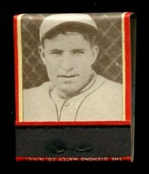 1935-36 Diamond Matchbook Mark Koenig Complete Pack With Matches Wow