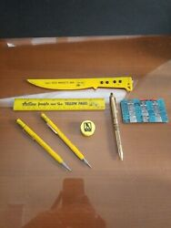 Yellow Pages Advertising And Promotional Items Lot Of 7