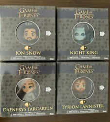 All 4 Game Of Thrones Funko 5 Star Figures Tyrion Night King Dany Jon Snow