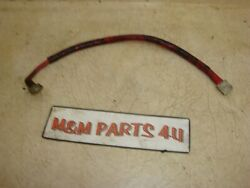 1972 72 Johnson 25 Hp Evinrude Outboard Positive Starter Motor Cable Red