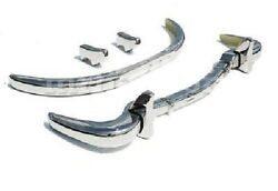 1955 Mercedes W198 300sl Gullwing Coupe Bumper Kit Set Front And Rear Bumpers