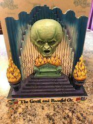 Wizard Of Oz Jim Shore The Great And Powerful Oz 2 Sided 4033981 New W Box Rare