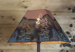 Copper Rectangle Shade