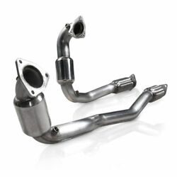 2010-2018 Ford Taurus Sho Stainless Works Catted 2-1/2 Down Pipe Free Ship