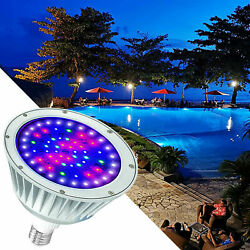 120v/40w Rgbw Swimming Pool Led Light Color Changing For Pentair Hayward