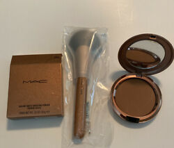 Mac Bronzing Collection 2020 Totally Taupeless Bronzer Contour+ 143 Ses Brush