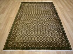 Gorgeous 1940andrsquos Antique Handmade Turkish/anatolian Rug 5 Ft X 8 Ft Free Shipping