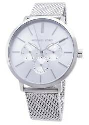 New Michael Kors Blake Chronograph Gents Stainless Steel MK8677 Mens Watch