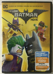 The Lego Batman Movie New Sealed Dvd See Pictures Expired Digital