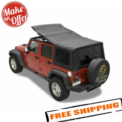 Bestop 79137-35 Sailcloth Replace-a-top For 2007-2009 Jeep Wrangler Unlimited Jk
