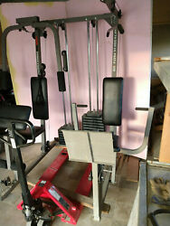 Weider Pro Power Stack Weight Gym We Are Now Selling This As Parts