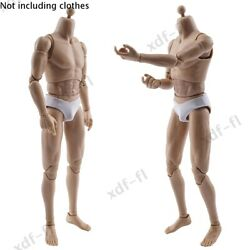WorldBox 1 6 Narrow Shoulder Muscular Male Figure Body for 12quot;Hot Toys Bruce Lee