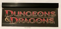 Dandd Dungeons And Dragons Promotional Edge Lit Sign New Wall Window