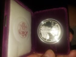 1992s Silver Eagle Proof Unrated But Gorgeous Stellar Like Looks Brilliant To Me