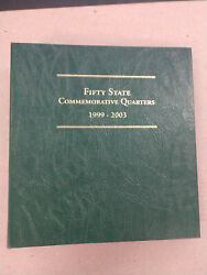 Fifty State Commemorative Quarters 1999-2003 P, D, Proof And Silver Proof-80 Coins