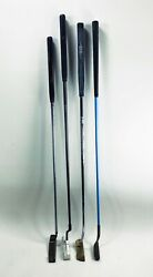Vintage Lot Of 4 Putters Ping Pal 6 Acushnet Tiger Shark 4.5 Coors Zro2 Ceramic
