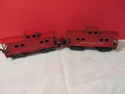 American Flyer Trains - 938 And 638 Lot American Flyer Lines Caboose Sale 17