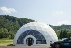 GEODESIC DOME TENT - 32FT (10M) - prefab geodome business outdoors camping