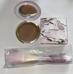 Mac Electric Wonder Collection Sun-soaked Strip Bronzer And Brush
