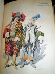Mesplandegraves Theatre Costume City 84 Planches Aquarellees Japan 17 Delivery 1887-89