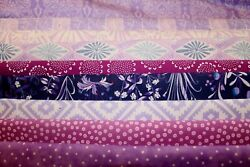 Fat Quarters In Lilac Shades Quilt Shop Quality Fabric Your Choice.