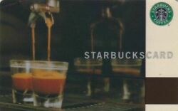 Starbucks Card Germany From 2003 With Original Sleeve - Double Shot - Very Rare