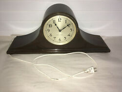 Seth Thomas Mantle Clock Untested - May Be For Parts Or Repair - Free Shipping