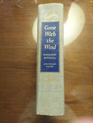 Margaret Mitchell Gone With The Wind Book Anniversary Edition Collectible 1975
