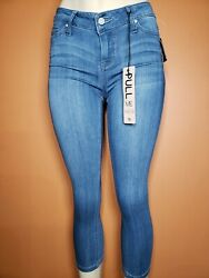 CUTE CELEBRITY PINK CROP MID RISE SKINNY JEANS  BRAND NEW SIZE 326 $25.85