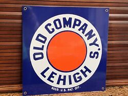 Old Companyandrsquos Lehigh Anthracite Coal Vintage Style Reproduction Metal Sign