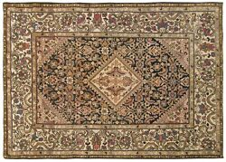 Antique Traditional Decorative Oriental Rug, In Small Size, With Free Shipping
