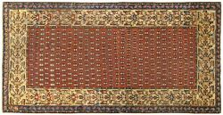 Antique Decorative Traditional Oriental Rug, In Small Size,, W/ Free Shipping