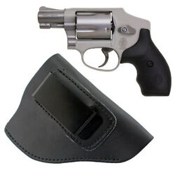 Genuine Leather Iwb Holster Gun Holder 38 Special Revolver Ruger Lcr-right Hand
