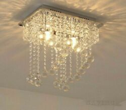 Crystals Chandelier Stainless Lights Modern Style With Led Lighting High Quality