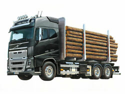Tamiya 1/14 Rc Volvo Fh16 Globetrotter 750 6x4 Timber Truck 56360 From Japan New