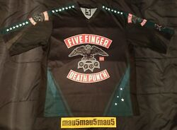 Five Finger Death Punch Jersey Shirt 5fdp Ffdp Adult M Boots And Blood Medium 5