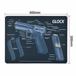 Glock Browning Gun Cleaning Rubber Mat With Parts Diagram And Instructions Sig