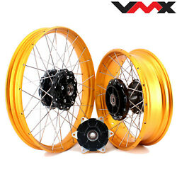 Vmx 2.1521and039and039 /4.2517 Tubeless Cush Drive Wheels For Bmw F800gs Adventure 2020