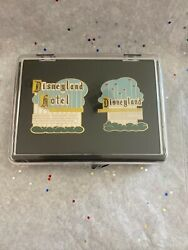 Pin 36155- Dlr Cast Exclusive–disneyland Marquee And Hotel Sign 2-pin Setle3000
