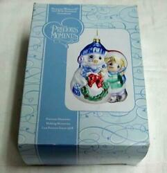Precious Moments 2006 Girl With Snowman Ornament - 712018