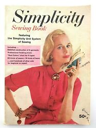 Vintage 1958 Simplicity Sewing Book Instruction Pattern Manual Magazine R071