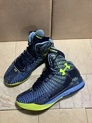 Under Armour Clutchfit Drive Mid Basketball Shoes 1246931 412 Size 7 US Blue $59.95