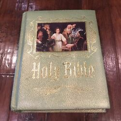 Antique 1964 Heirloom Holy Bible Master Reference Edition Large Size Red Letter