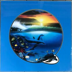 Robert Wyland Dolphin Days Ltd Edition Signed/numbered By Artist 172/650