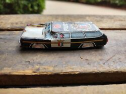 Vintage Bandaid Ho Small Tin Lithograph Police Car Cop Cops Toy Toys