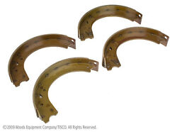 Brake Shoes For Ford 8n Naa And Jubilee Tractors Qty Of 4 Shoes Part 8n2200baf