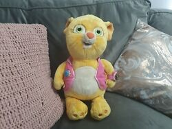 Disney Stamped Rare Dotty Cat Special Agent Oso Plush Soft Toy 13 Seated