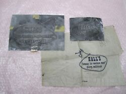 Vintage Hall's Dept. Store Western Wear Dept Store Printing Plates Gilroy, Ca